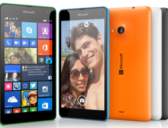 Microsoft Lumia 535 oficjalnie: 5″ ekran qHD i Snapdragon 200