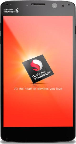 Qualcomm Snapdragon 810 - smartfon, front