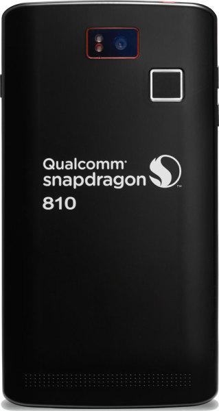 Qualcomm Snapdragon 810 - smartfon, tył