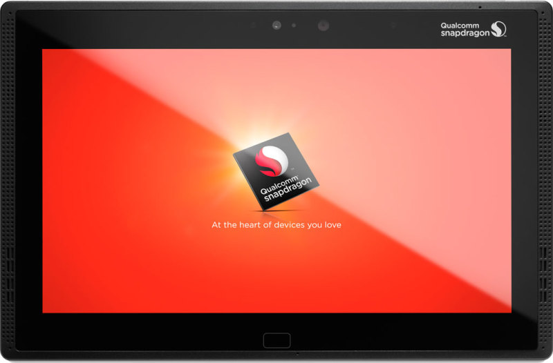 Qualcomm Snapdragon 810 - tablet, front