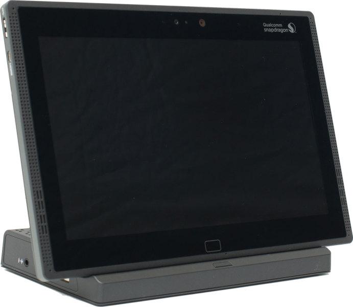 Qualcomm Snapdragon 810 - tablet na stacji dokującej
