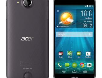 Acer Liquid Jade S z 64-bitowym chipem MediaTek oficjalnie zaprezentowany