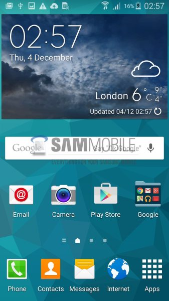 Samsung Galaxy S5 - Lollipop